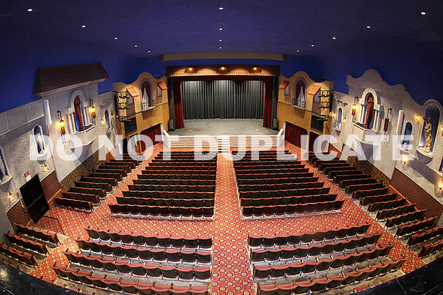 Plaza Theatre Interior