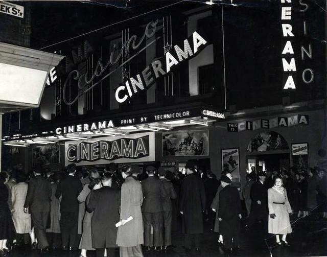 Casino Theatre exterior (Cinerama)