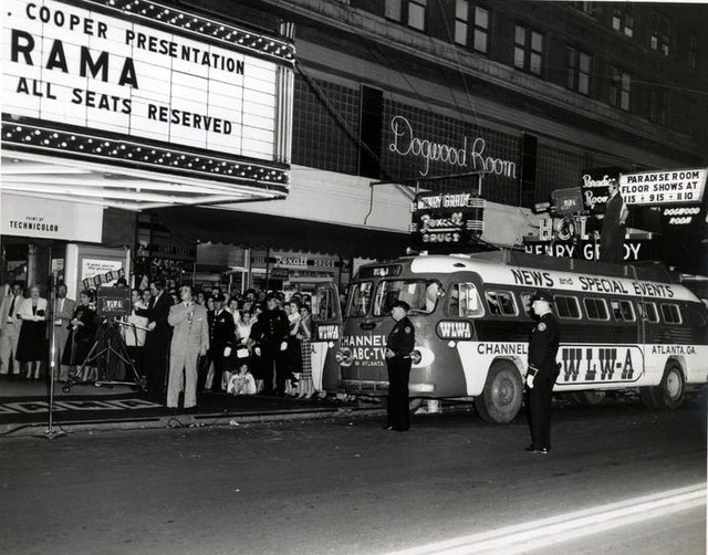Roxy Theatre exterior (Cinerama)