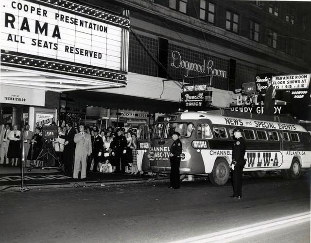 Roxy Theatre exterior (Cinerama)