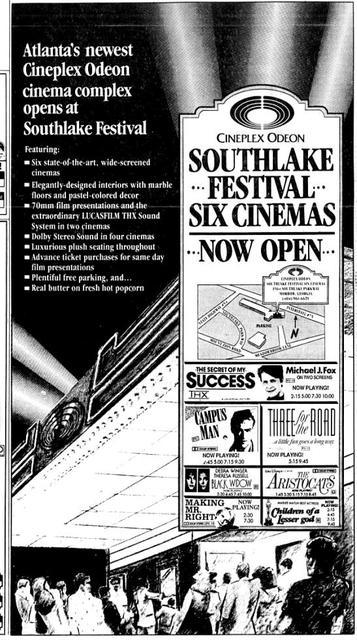 Southlake Festival Cinema 6 In Morrow Ga Cinema Treasures
