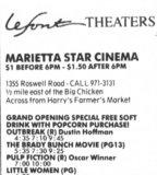 Marietta Star Cinema