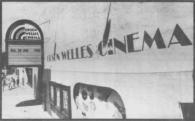 Orson Welles Cinema, 1986