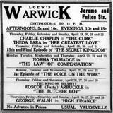 Loew's Warwick Theatre