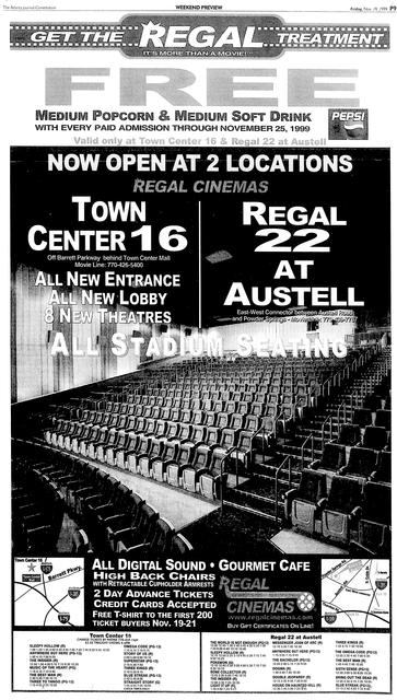 Regal Stadium 22 at Austell