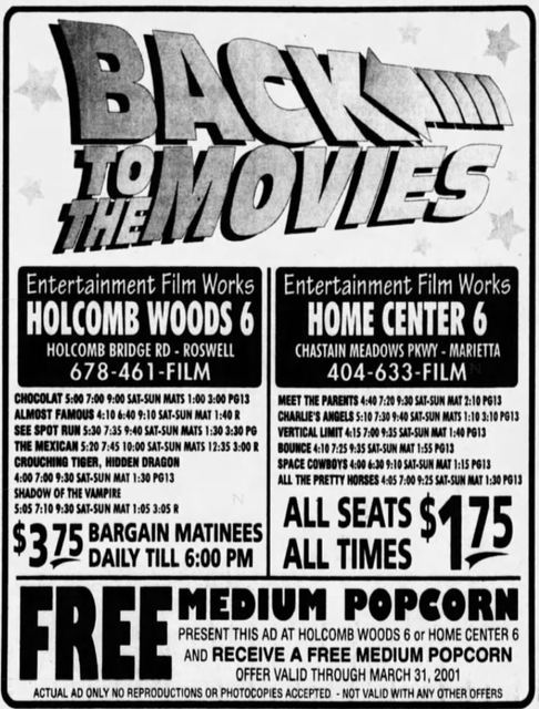 Holcomb Woods 6 Cinema