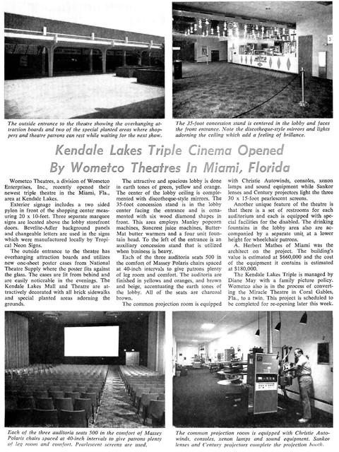 Kendale Lakes Triple - Miami, FL