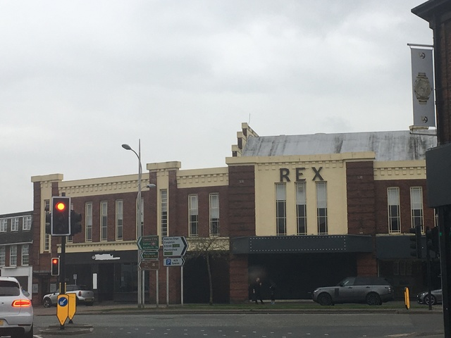 Rex Cinema Wilmslow April 2018