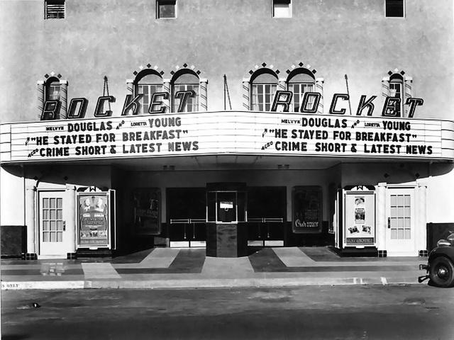 Rocket Theater 206 S. Rock Island Boulevard, El Reno, Ok...1940.