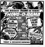 "I-270 ""Thing-O-Rama"" Monster Movie Triple Feature"