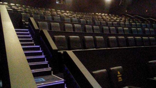 Seating for the IMAX Theatre
