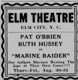 Ad From The Wilson Daily Times For Elm Theater (1946)