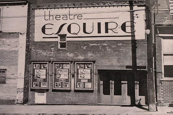 The Esquire Theatre in 1944