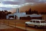 PICTURED – The Pioneer Walk-In (Open Air) Theatre, located in Parsons Street Alice Springs, at dusk early 1960's – Photo Courtesy of Charlie Poole