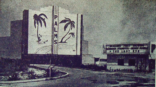 Palms Drive-In exterior