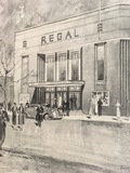 Regal Highams Park architects drawing from 1935