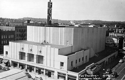 Fox Theatre exterior (1943)