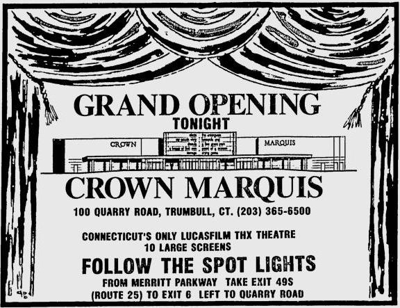 November 11th, 1994 grand opening ad