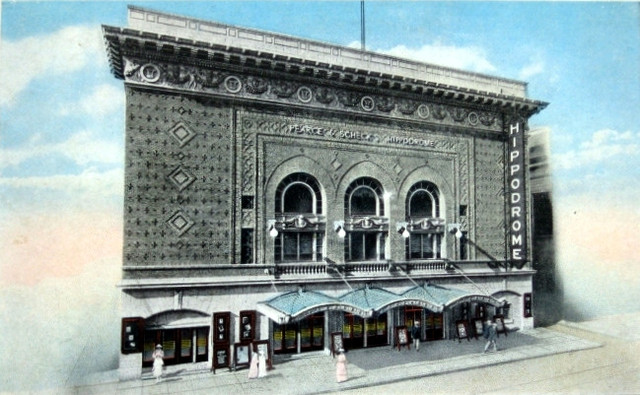 Hippodrome Theatre exterior