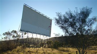 Pioneer Drive In Theatre, Alice Springs – Photo acknowledgement Emma Sleath, ABC Local