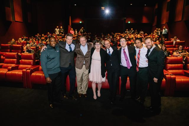 Phoenix Theatres Grand Opening Night - Staff Group Photo
