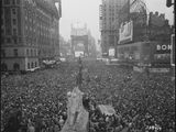V-J Day in Times Square, New York City. (U.S. National Archives and Records Administration)
