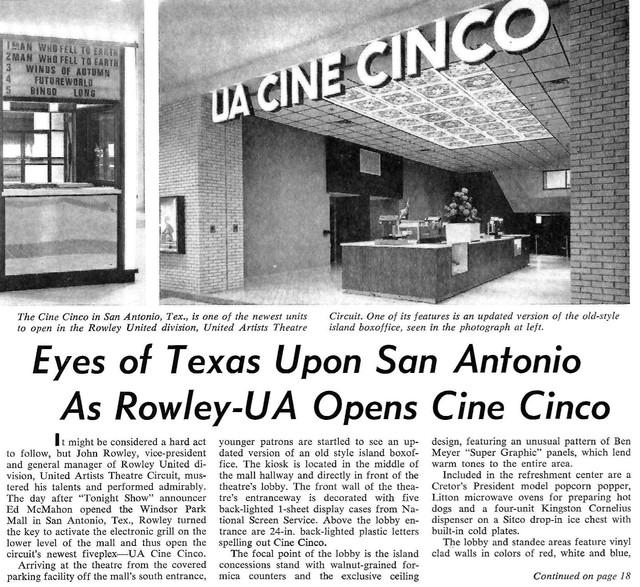 UA Cine Cinco - San Antonio, TX