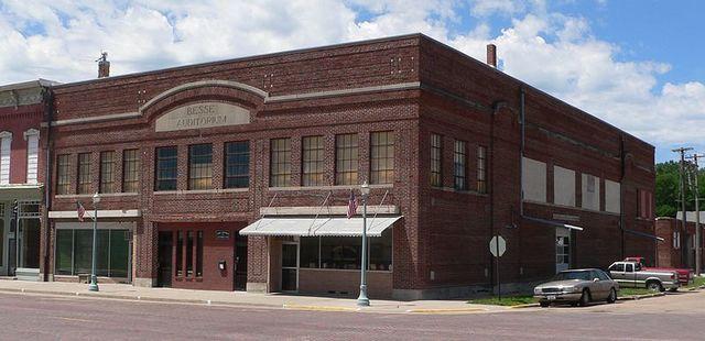 Besse Auditorium, Red Cloud, Nebraska