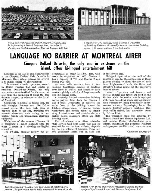 Cine'-Parc Dollard - Montreal, QC