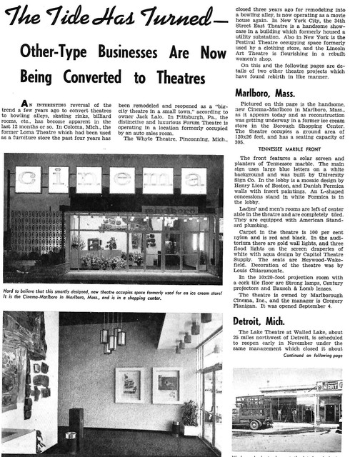 Cinema Marlboro - Marlborough, MA