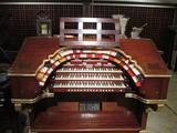 The State-Lake Wurlitzer organ in private ownership. Photo credit Stephen E Brittain.