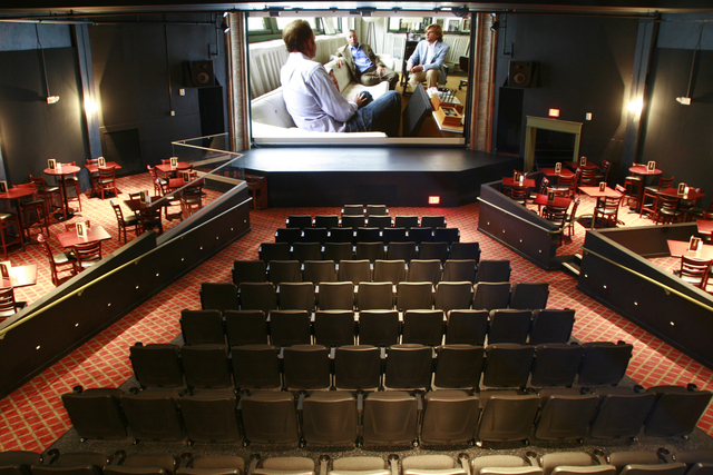 The interior of The Bijou Theatre