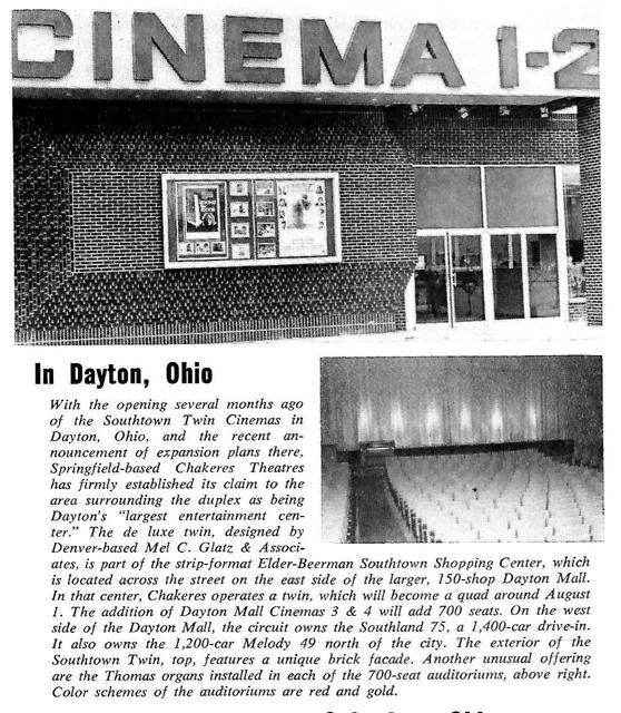 Southtown Cinemas I & II - Dayton, OH