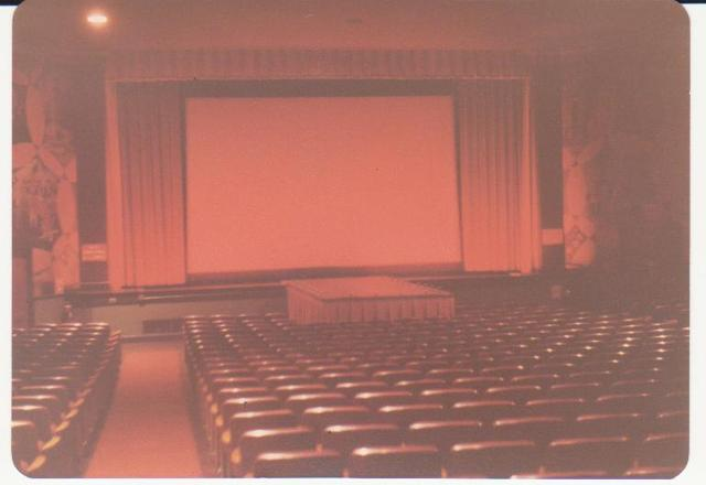 Byrd Theatre with Curtains Open