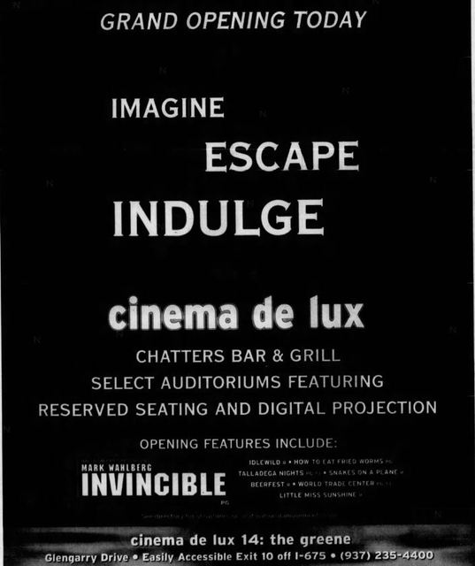 Greene 14 + IMAX