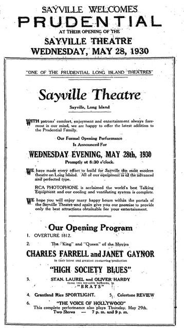 Sayville Theatre