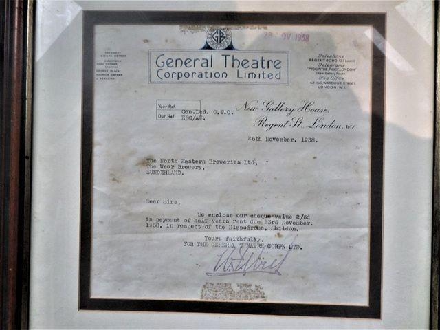 Correspondence in Gaumont British days