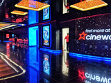 Cineworld (Empire) Leicester Square – Main Foyer Right Wall.