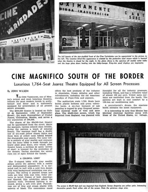 Cine Variedades - Chihuahua, Mexico