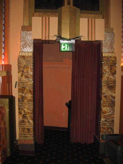 Auditorium Exit