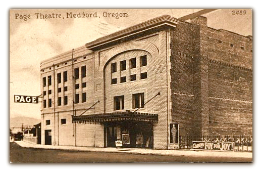 Page© Theatre...Medford Oregon