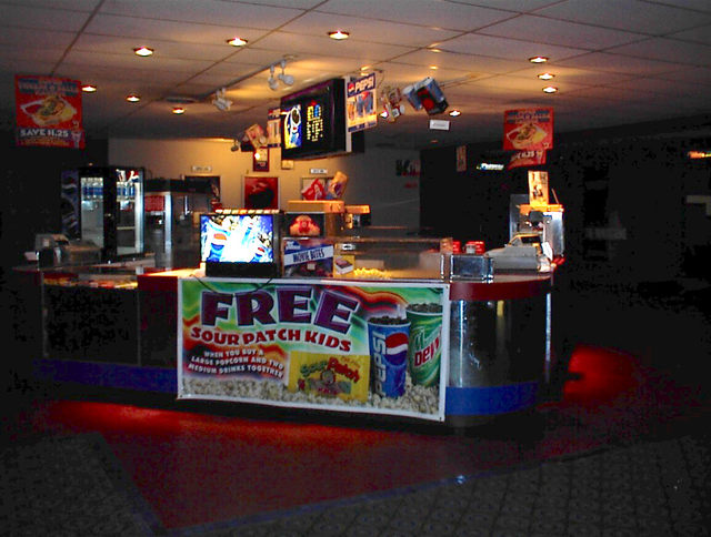 Clearwater Concession Stand - late 90's