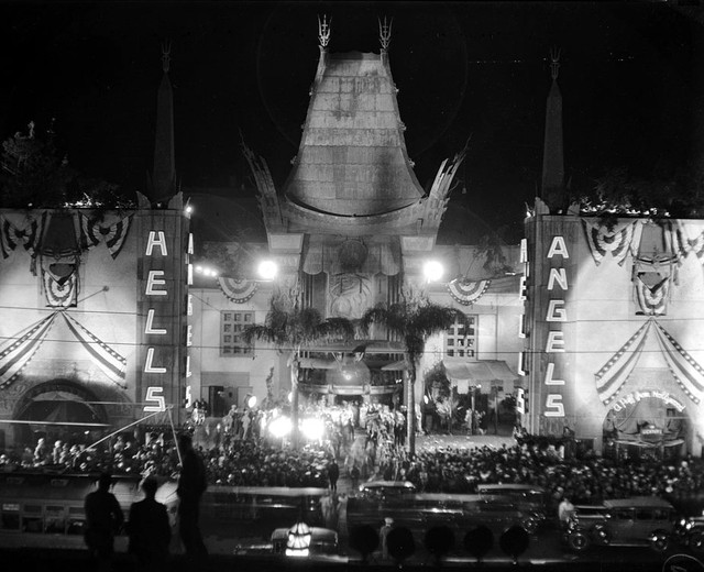 Chinese Theatre exterior