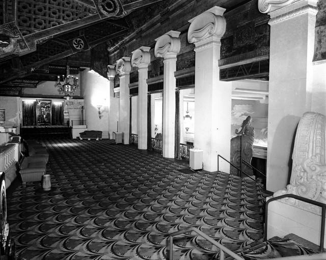 Paramount Theatre Lobby interior