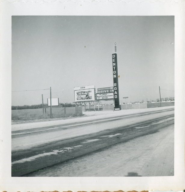 Denton Road Drive-In 1950's