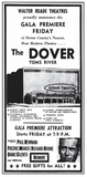 Dover Theater Toms River Opening Ad 1967