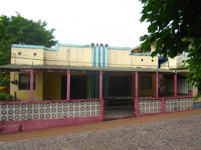 Madam Theatre in Sint Eustatius (Caribbean Netherlands)