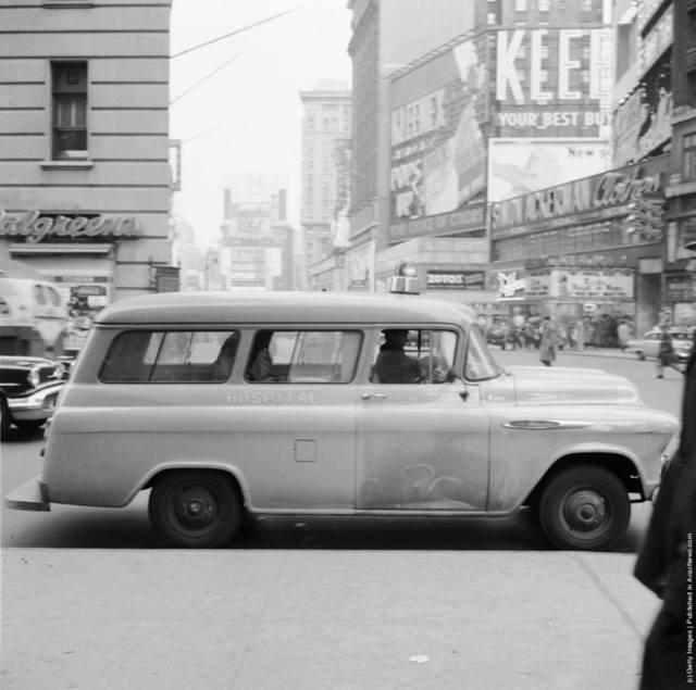 Circa 1955 photo via Daniel Gerard.