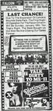 Closing Weekend 1983