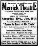 January 13th, 1921 Leader-Observer ad